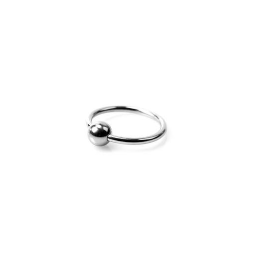 Horse Shoe Glans Ring - Penishodering med Kule - 25 mm
