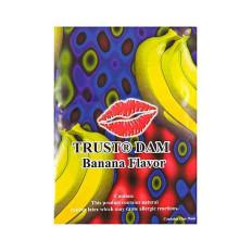 Lixx Dental Dams - Trust Dam - slikkelapp Banan