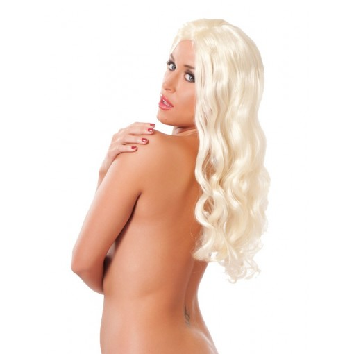 Amorable - Lang, blond parykk